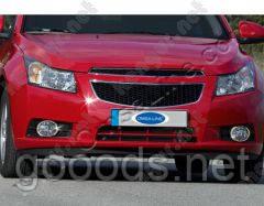 Накладки на противотуманки Chevrolet Cruze