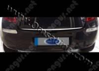 Хром накладка на нижнюю кромку крышки багажника Renault Clio