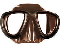Подводная маска для охоты Mares Tana; коричневая