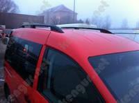 Рейлинги на крышу автомобиля Caddy Volkswagen, металлические концевики