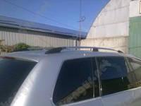Рейлинги на крышу автомобиля Touareg Volkswagen с пластиковыми концевиками