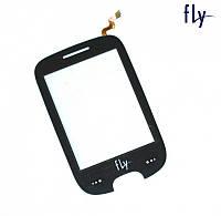 Touchscreen (сенсорный экран) для FLY E155, оригинал (черный)