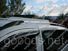 Багажник на автомобиль Jumpy Citroen с пластиковыми концевиками