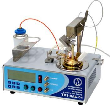ТВЗ-ЛАБ-01 Апарат для визначення температури спалаху в закритому тиглі