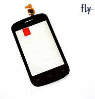 Touchscreen (сенсорный экран) для FLY IQ246 Power, оригинал (черный)