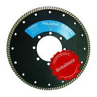 Алмазный круг, диск, сухорез, пила Палмина Ф230 мм. (Palmina - S) турбо под большой фланец для резки габбро.