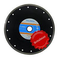 Алмазный круг, диск, сухорез, пила Палмина Ф230 мм. посадка на 22.23 мм. (Palmina - S) турбо для резки габбро.
