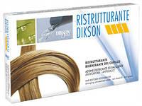 Ампулы для восстановления сухих и пористых волос Dikson