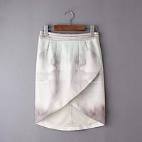 Стильная женская юбка с запахом