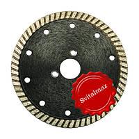 Алмазный круг, диск, сухорез, пила Палмина Ф125 мм. (Palmina - S) под фланец и обычные для резки габбро.