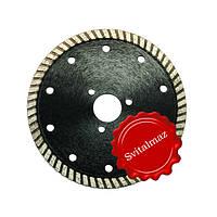 Алмазный круг, диск, сухорез, пила Палмина Ф115 мм. (Palmina - S) под фланец и обычные для резки габбро.