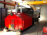Паровой котел на щепе и биомассе с автоматической подачей Комконт 2 тонны пара в час