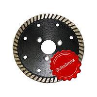 Алмазный круг, диск, сухорез, пила Палмина Ф105 мм. (Palmina - S) под фланец и обычные для резки габбро.