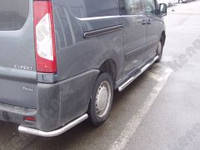 Дуги защитные Peugeot Expert, одинарные углы
