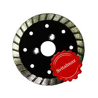 Круг, диск, сухорез, пила алмазная Ф105 мм. для резки габбро.