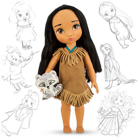 Кукла принцесса Покахонтас Дисней АниматорсDisney Animators Pocahontas