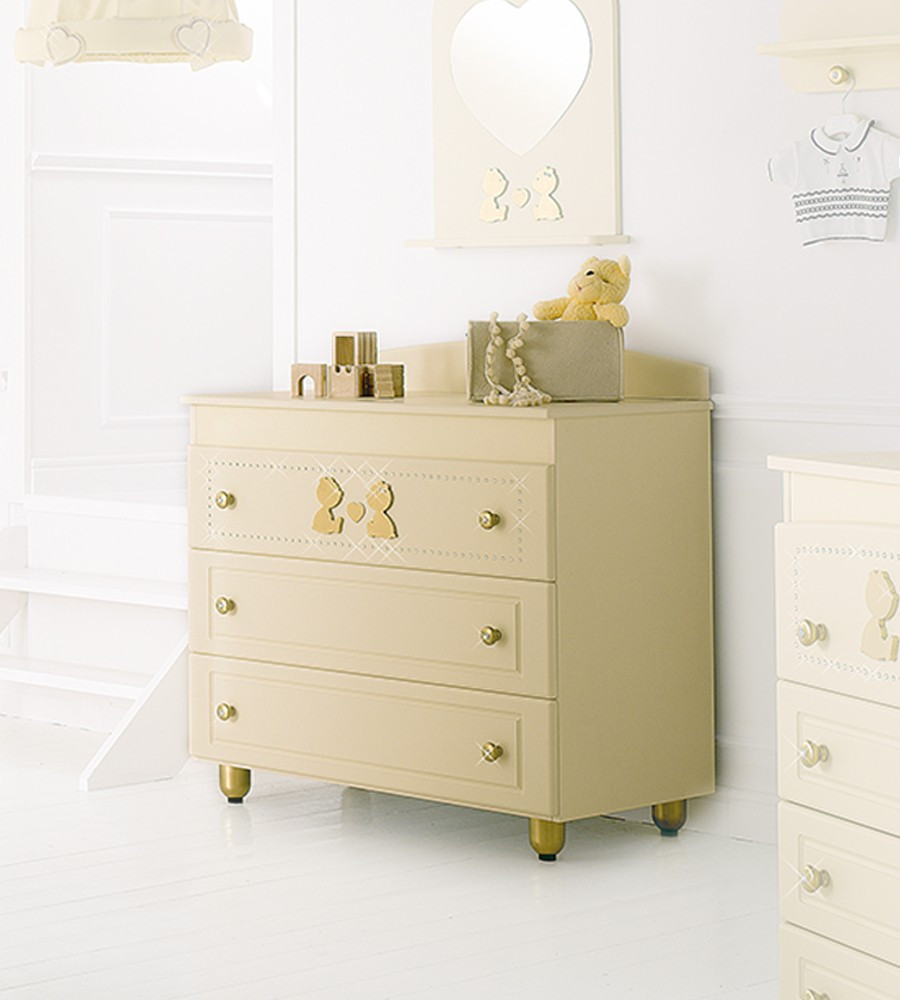 Комод Baby Expert CHEST OF DRAWERS CUORE DI MAMMA