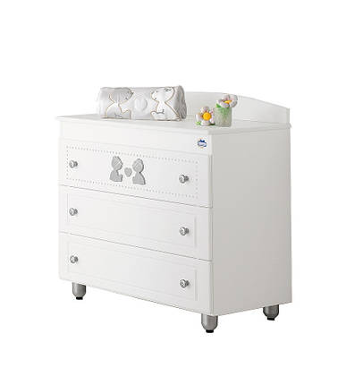 Комод Baby Expert CHEST OF DRAWERS CUORE DI MAMMA, фото 2