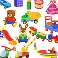 Детские игрушки, книги
