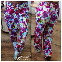 Летние легкие брюки штапель размеры 42-46
