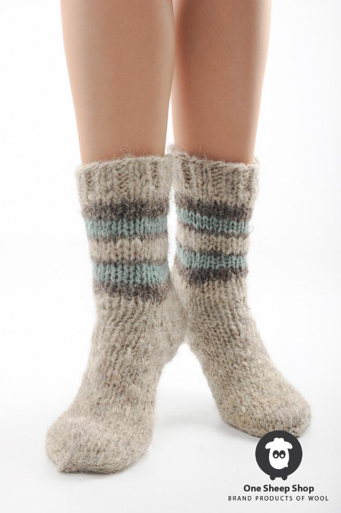 8bac7f625a84a серые носки ручной вязки купить купить теплые носки на Handwork.Studio