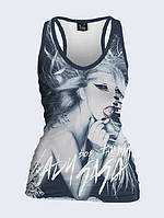 Майка 3D Леді Гага борцівка