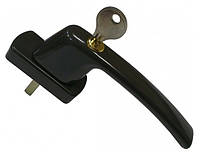 Ручка HARMONY с замком, коричневая, штифт 35 мм.