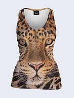 Майка 3D Леопард