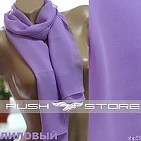 Лиловый шарф женский, фото 1