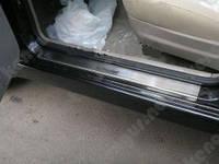 Накладки на внутренние пороги Honda Civic