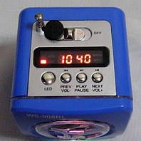 Портативный Mp3 плеер колонка с Led подсветкой