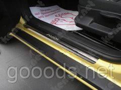 Хромовані Накладки на пороги Mitsubishi Lancer