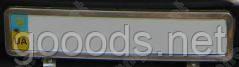 Рамка под номер Volkswagen Caddy (нержавейка)