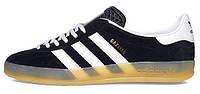 Мужские кроссовки Adidas Gazelle Indoor Black, адидас