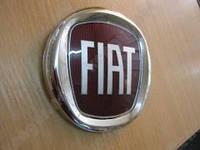 Эмблема задняя Fiat Doblo (d=95mm)