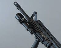 Крепление на оружие на планку пикатини (F743)