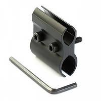 Крепление на оружие 2 полов алюминий универсальное (F3456)