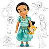 Кукла принцесса Жасмин Дисней Аниматоры Disney Animators Jasmine