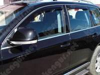 Дефлекторы с хромированным молдингом для боковых окон Volkswagen Touareg