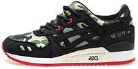 Мужские кроссовки Asics Gel Lyte III Camo, камуфляж, асикс гель лайт