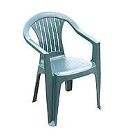 Кресло пластиковое ATLANTIDE зеленое