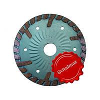 Сухорез, диск алмазный китайский Схид Диамант Ф115 мм. и Ф125 мм. для резки камня.