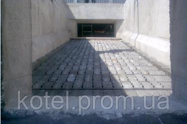 Подвижная колосниковая решетка парового котла на щепе Комконт 4 тонны пара в час