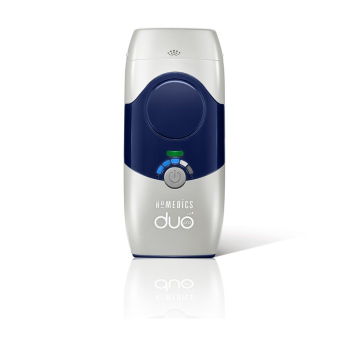 Лазерный + фотоэпилятор DUO Pro HoMedics (картридж для лица + картридж коллагенарий+омоложение лица)