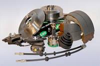 Колодки тормозные передние Chevrolet Aveo(T200,250)(2002-2010) LPR 05p1080