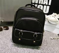 Рюкзак кожаный стильный ретро.