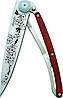 Нож складной DEEJO TATTOO 37g, CHERRY BLOSSOM