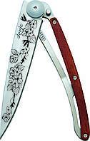 Нож складной DEEJO TATTOO 37g, CHERRY BLOSSOM, фото 1