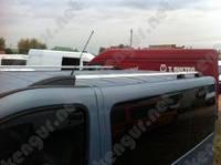 Рейлинги на крышу Opel Vivaro с пластиковыми концевиками