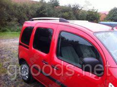 Рейлинги на крышу автомобиля Kangoo Renault, пластиковые концевики
